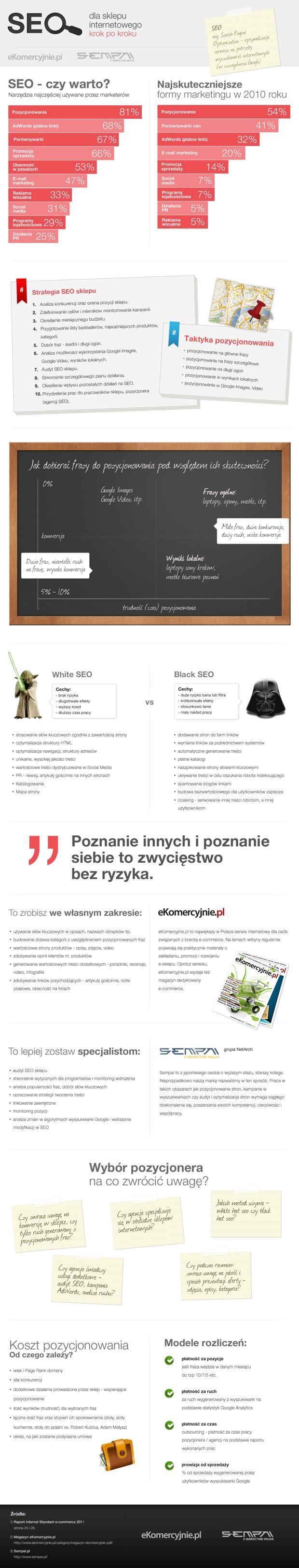 strategia SEO infografika