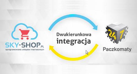 Paczkomaty InPost integrują się z platformą sklepów internetowych Sky-Shop.pl