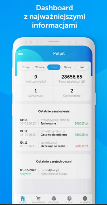 aplikacja mobilna sky-shop